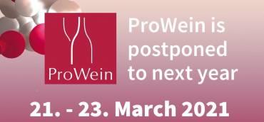 ProWein 2020: rinviata al prossimo anno